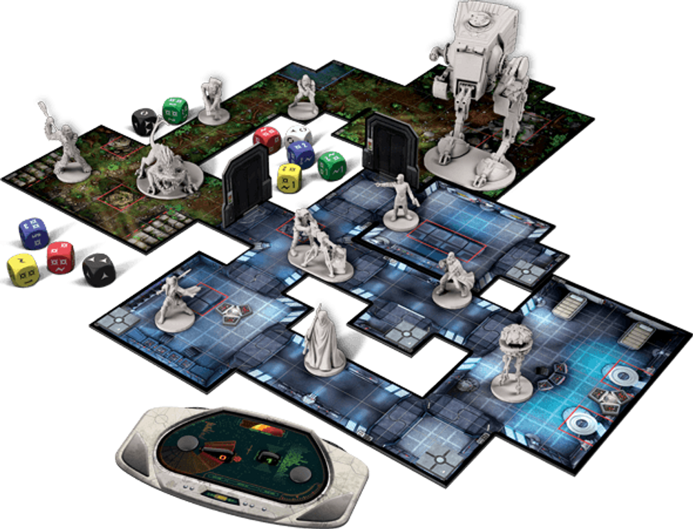 Star Wars: Imperial Assault components