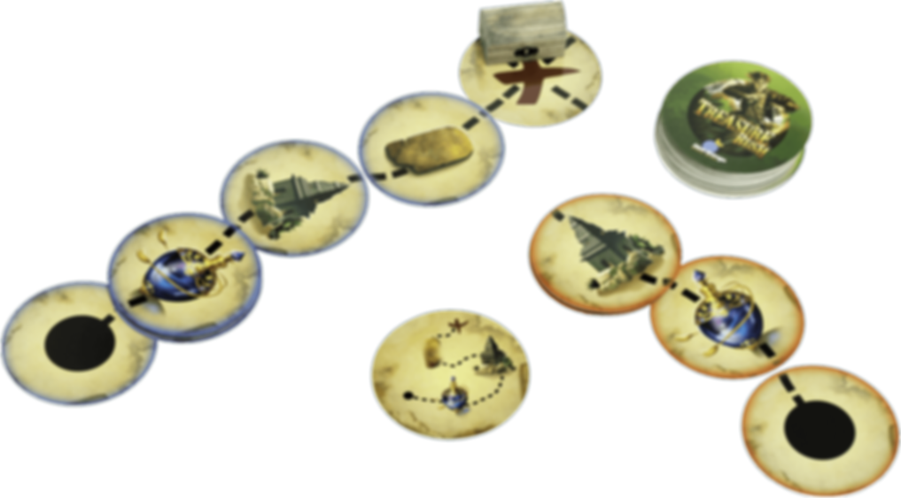 Treasure Rush components