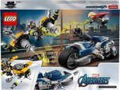 Avengers Speeder Bike Attack components