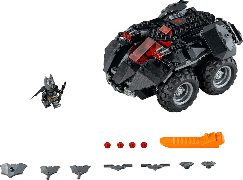LEGO® DC Superheroes App-Controlled Batmobile components