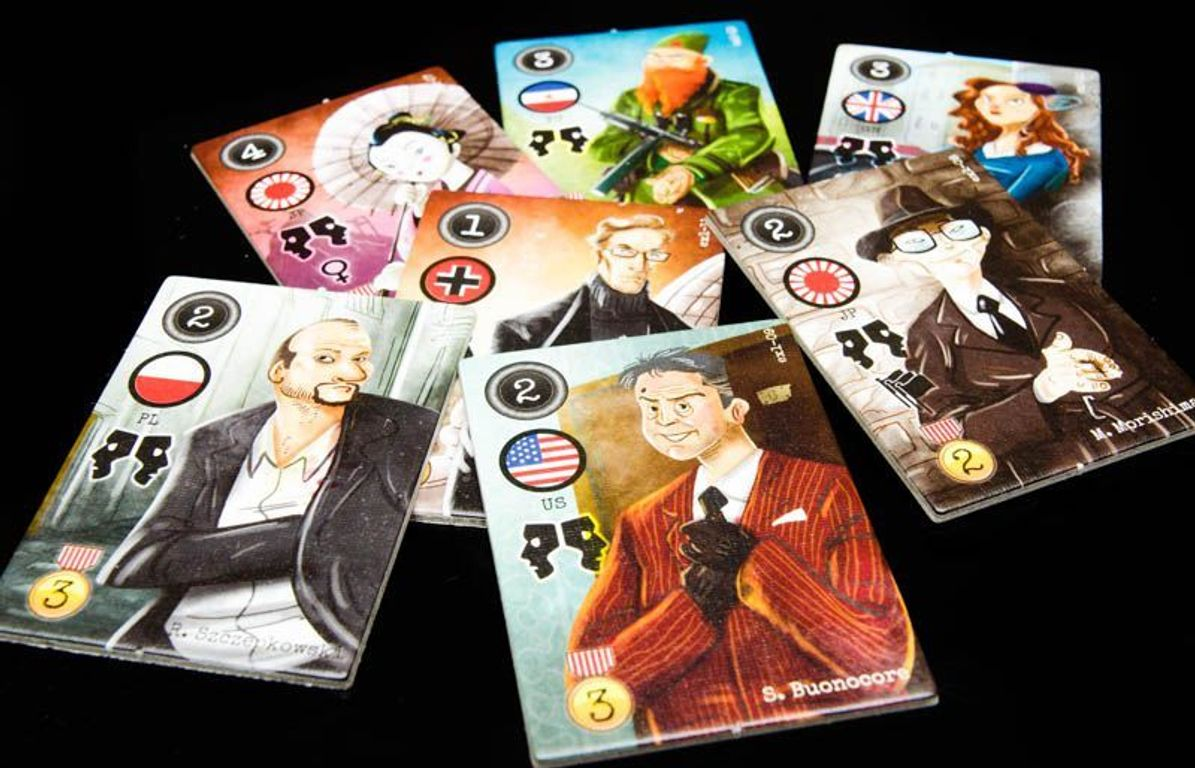 City of Spies: Double Agent expansion cards