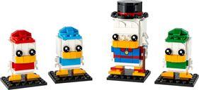 LEGO® BrickHeadz™ Scrooge McDuck with Huey, Dewey & Louie components