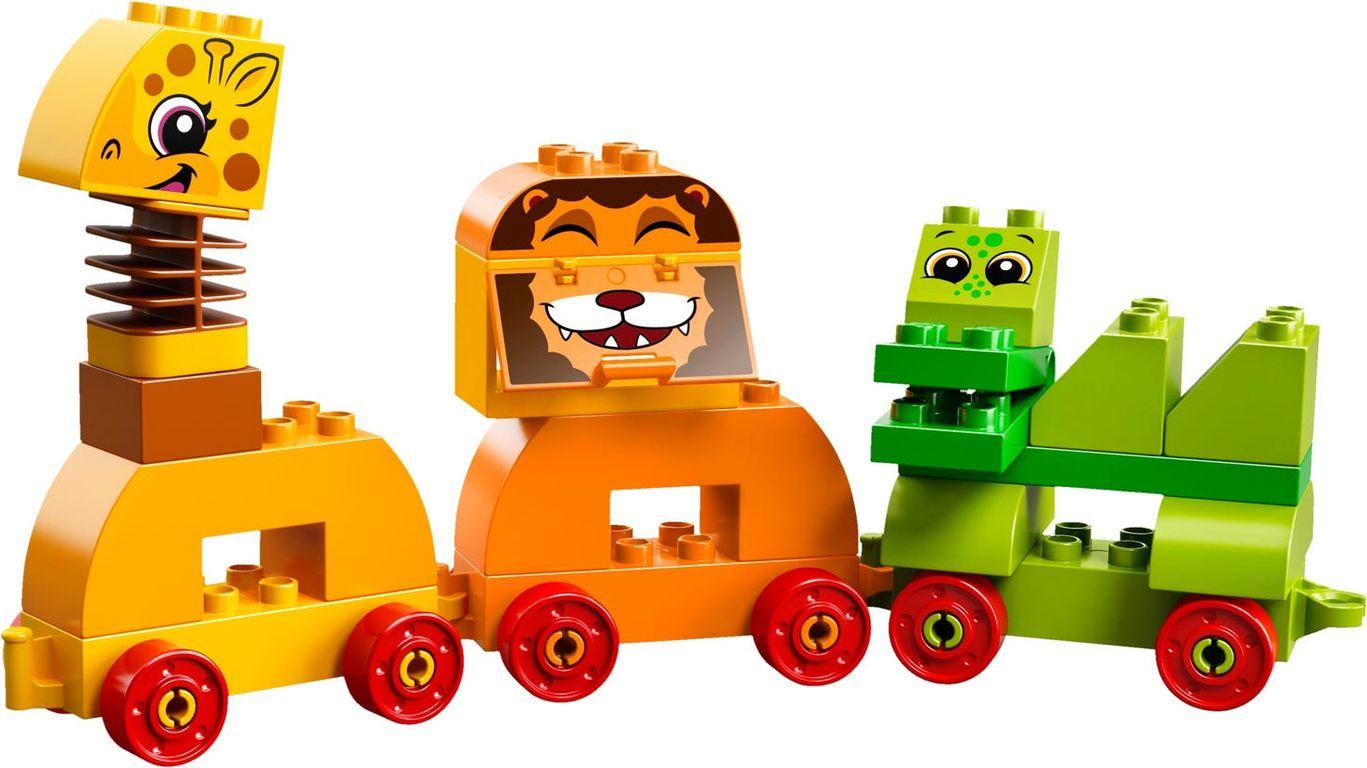 My First Animal Brick Box animals