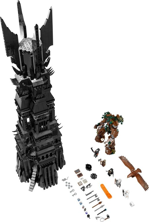 LEGO® The Lord of the Rings The Tower of Orthanc components