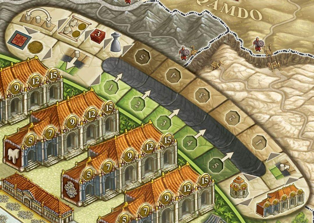 Yunnan game board