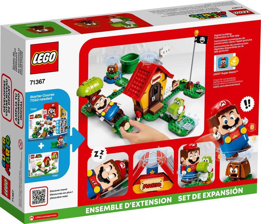 Mario's House & Yoshi Expansion Set back of the box