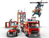 LEGO® City Fire Station Headquarters vehicle