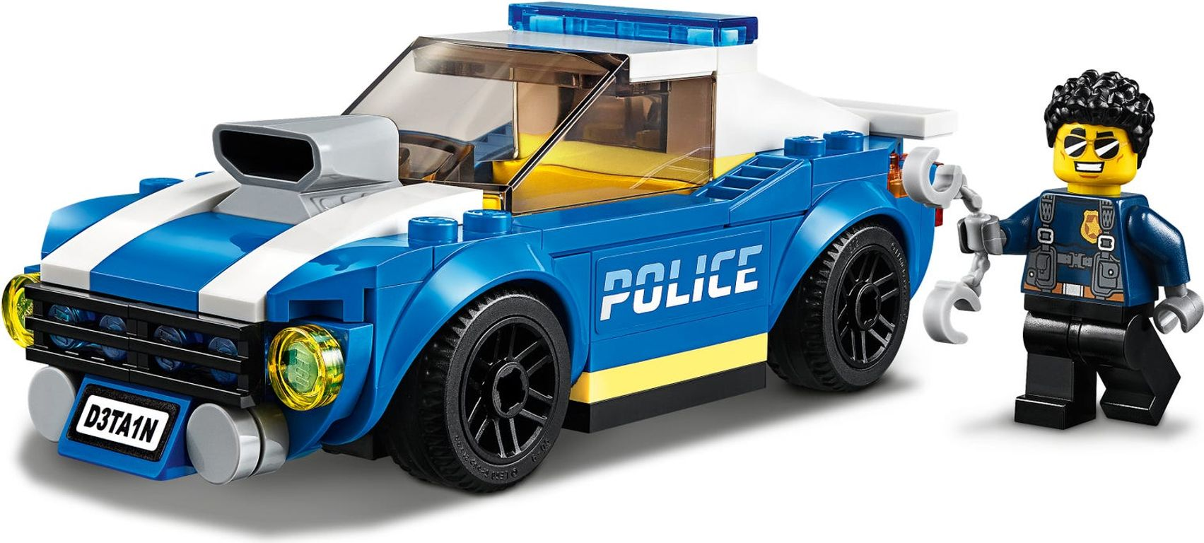 LEGO® City Police Highway Arrest minifigures
