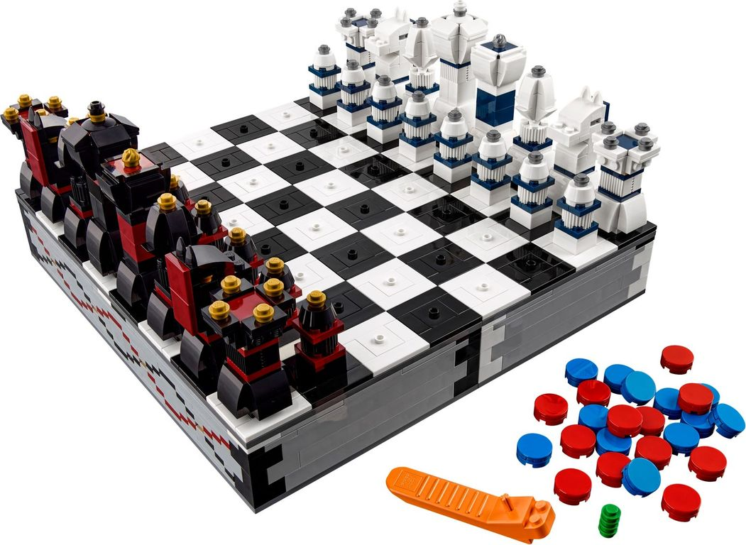 Iconic Chess Set components