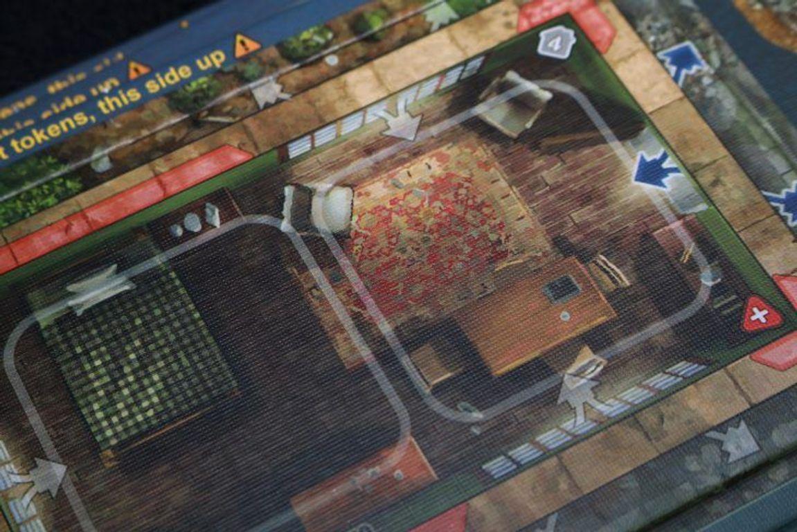 Heroes of Normandie: Carentan game board