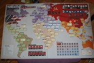 Twilight Struggle game board