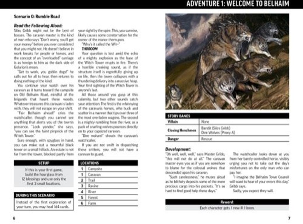 Pathfinder Adventure Card Game: Core Set manual