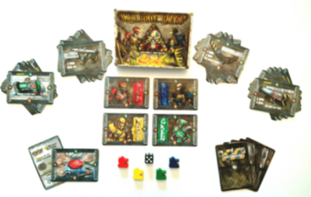 DeathBot Derby components