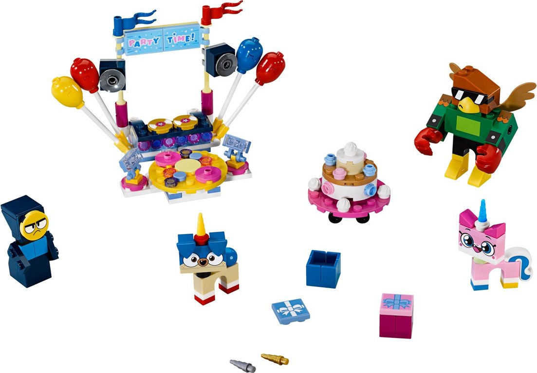 LEGO® Unikitty! Party Time components