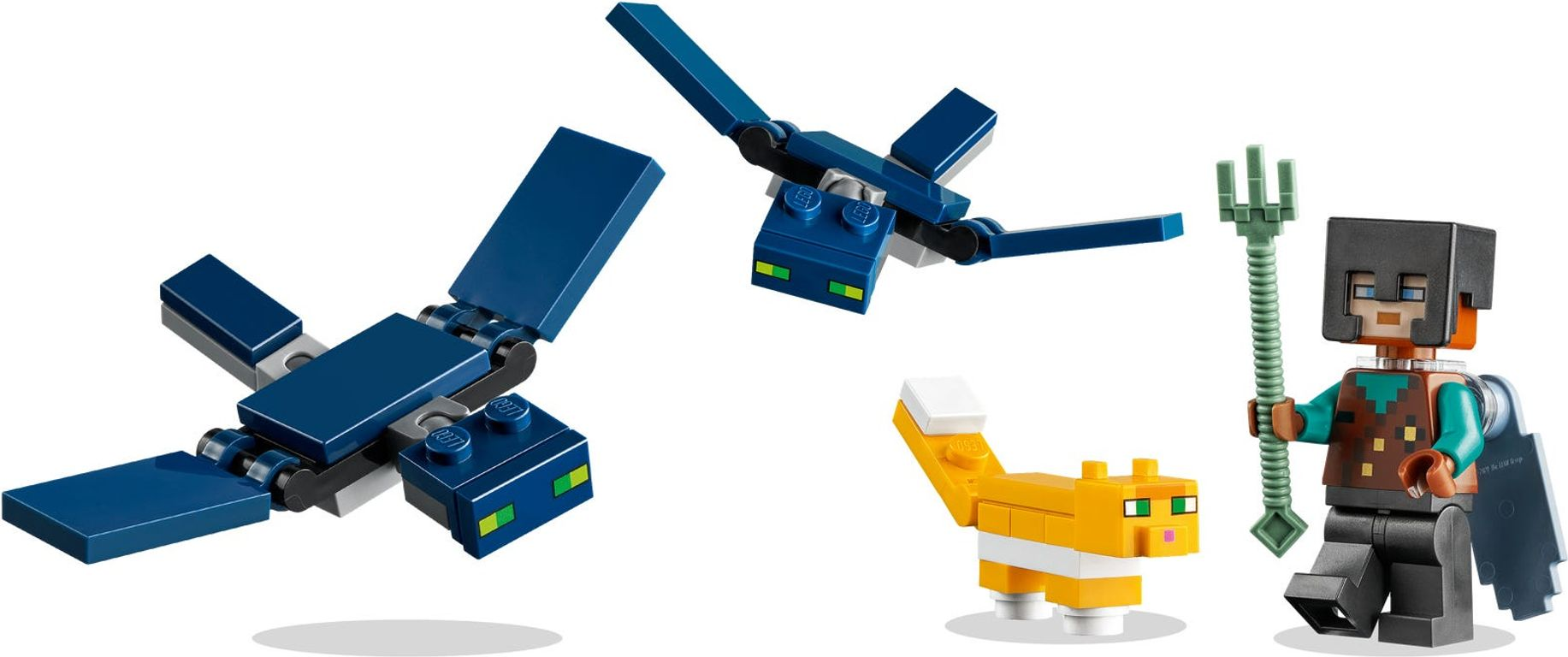 LEGO® Minecraft The Sky Tower minifigures