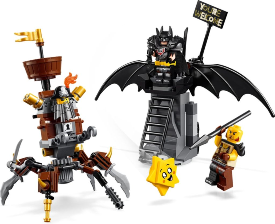 Battle-Ready Batman™ and MetalBeard components