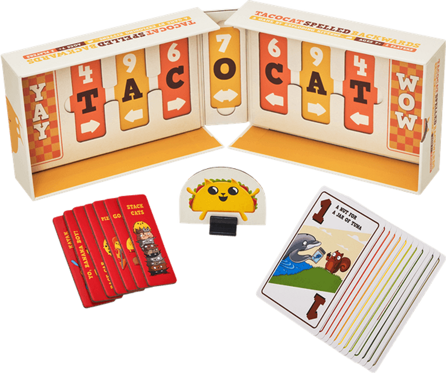 Tacocat Spelled Backwards components