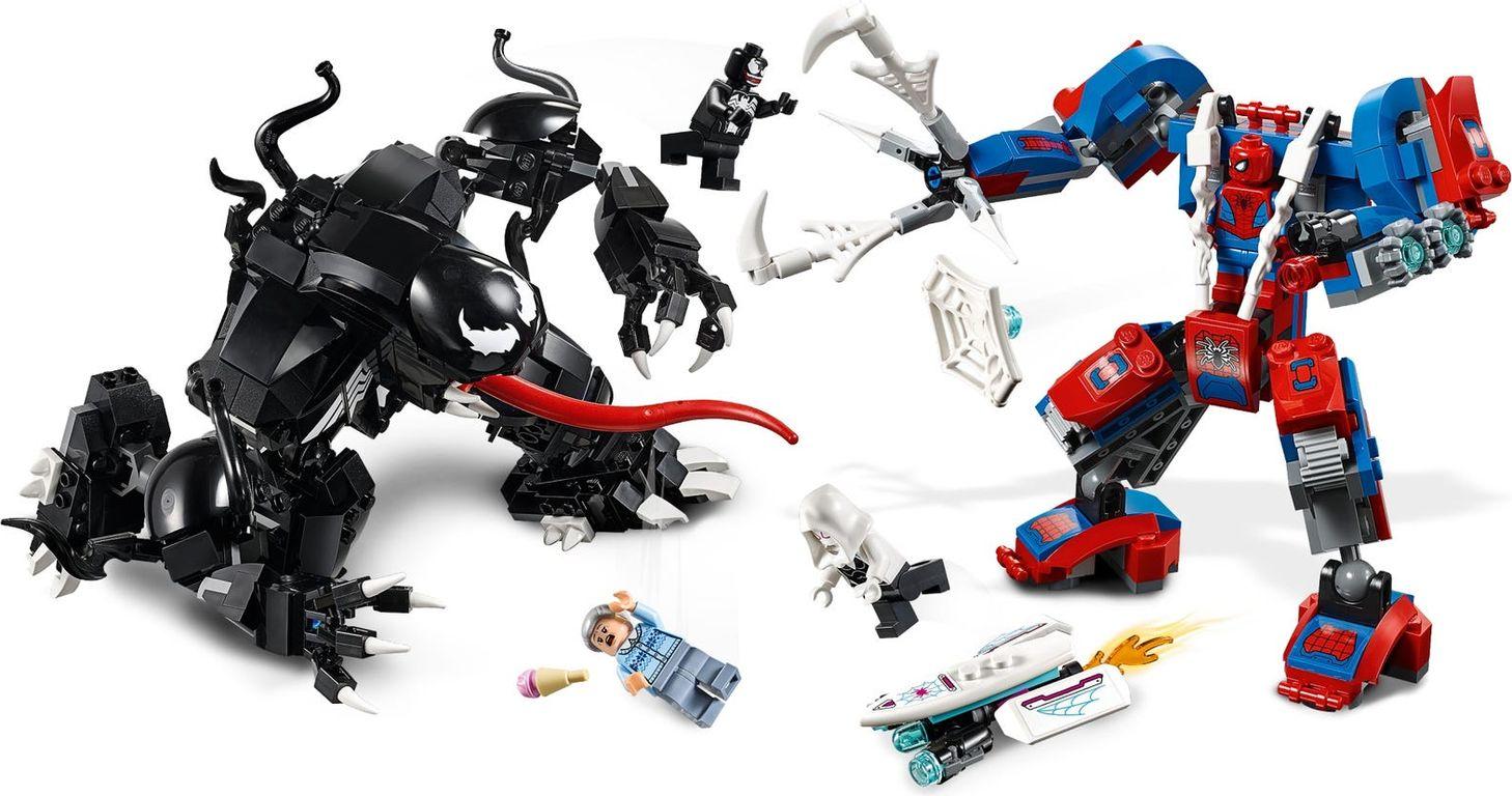 Spider Mech vs. Venom gameplay
