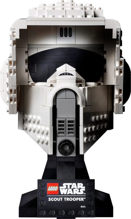 LEGO® Star Wars Scout Trooper™ Helmet components