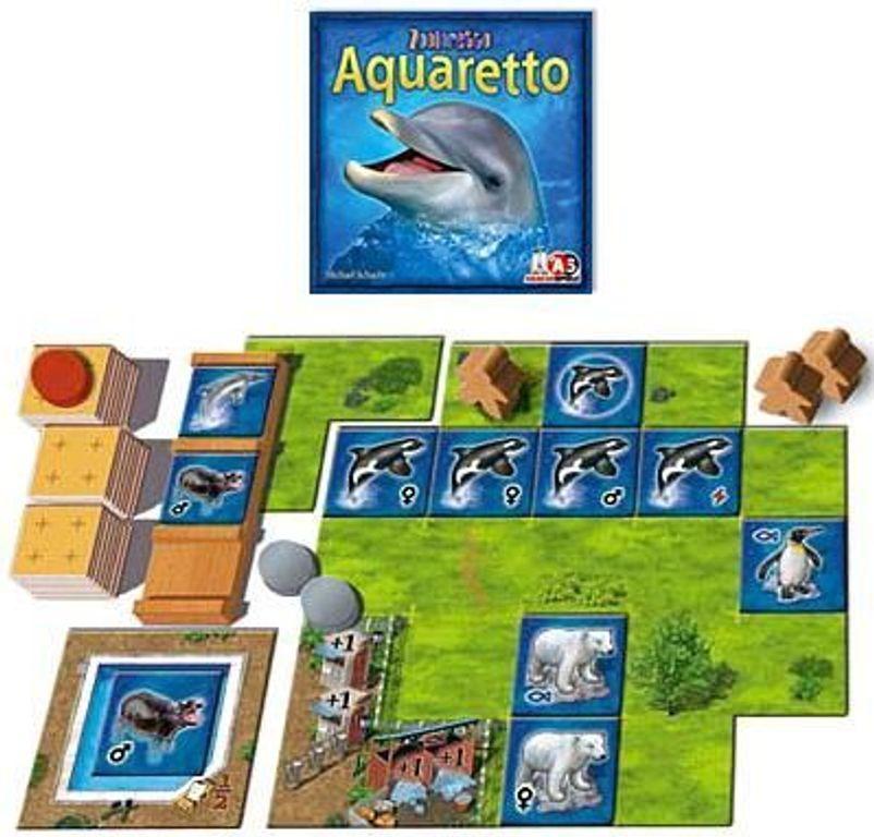 Aquaretto components