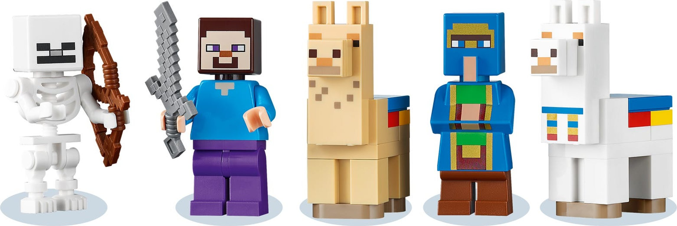 LEGO® Minecraft The Trading Post minifigures