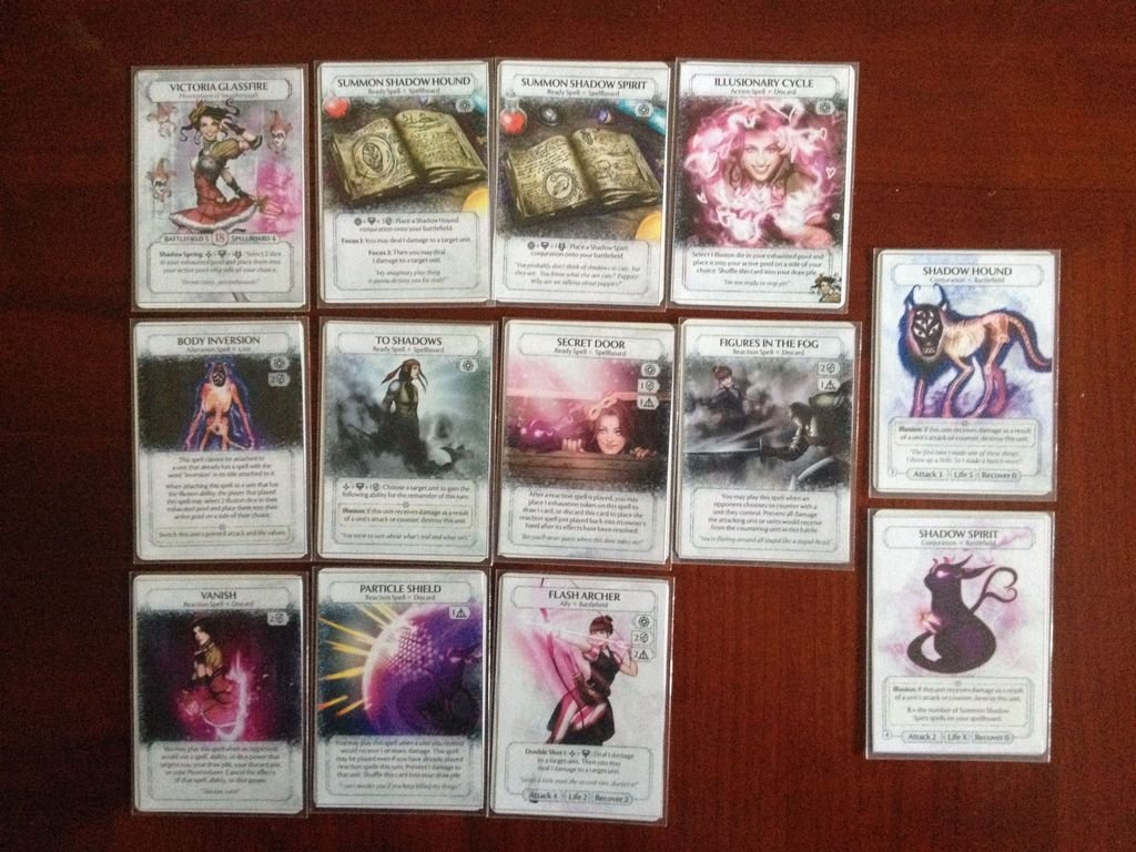 Ashes: The Duchess of Deception components