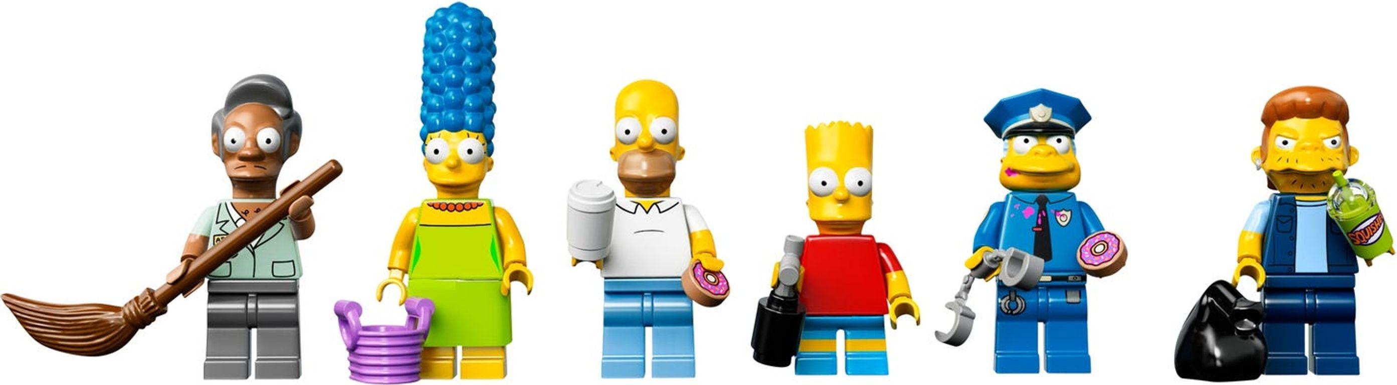 Kwik-E-Mart minifigures