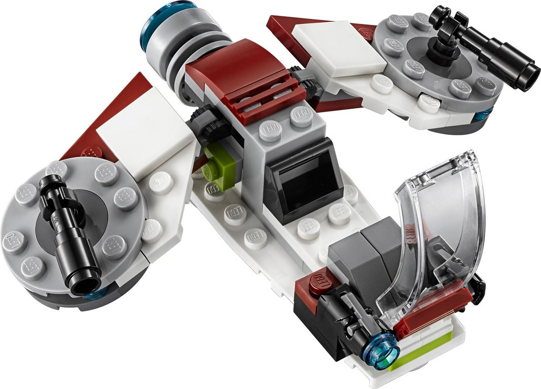 LEGO® Star Wars Jedi™ and Clone Troopers™ Battle Pack components