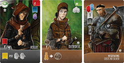 Paladins of the West Kingdom: City of Crowns cards