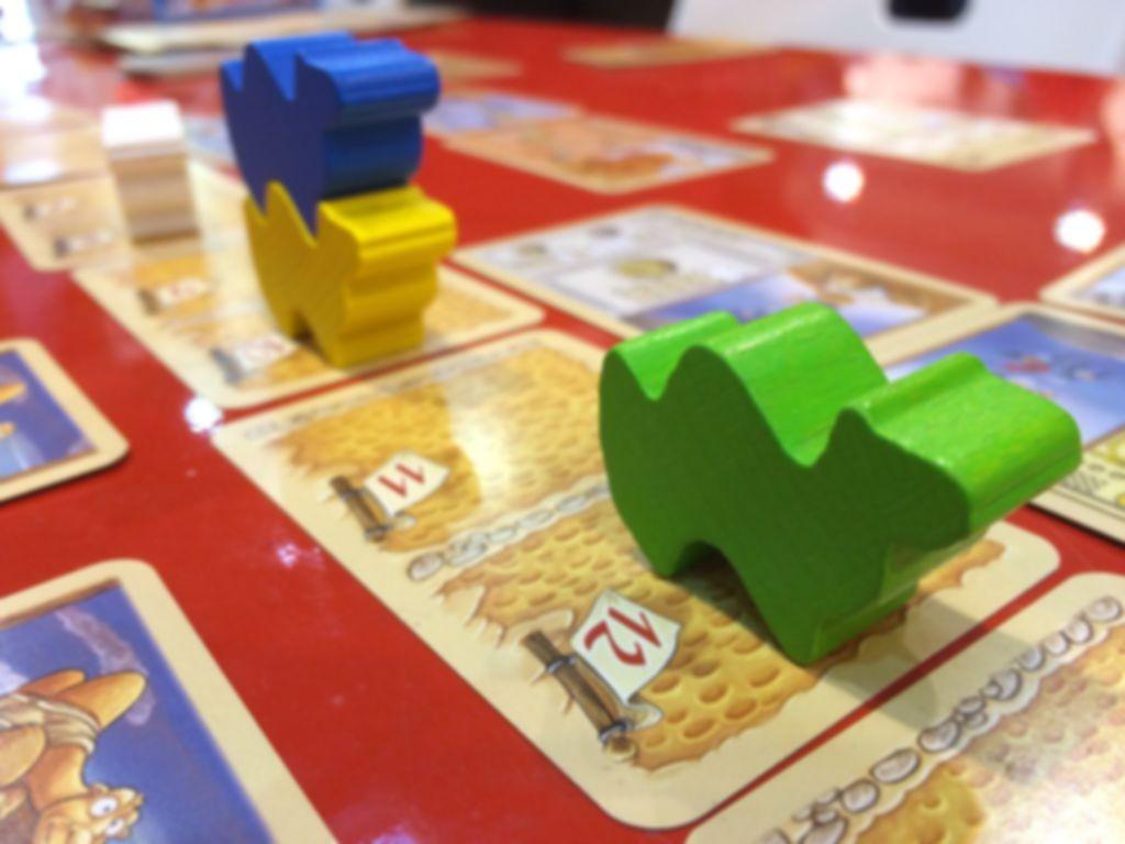 Camel up Cards gameplay