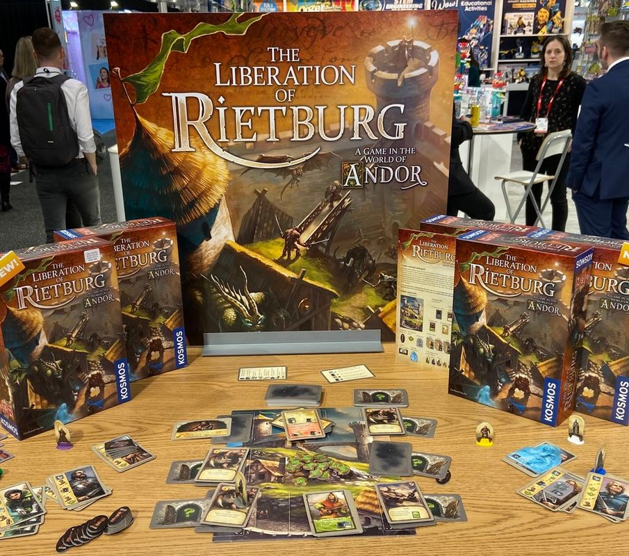 The Liberation of Rietburg components