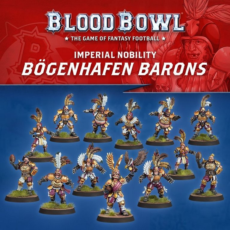 Blood Bowl: Second Season Edition miniatures