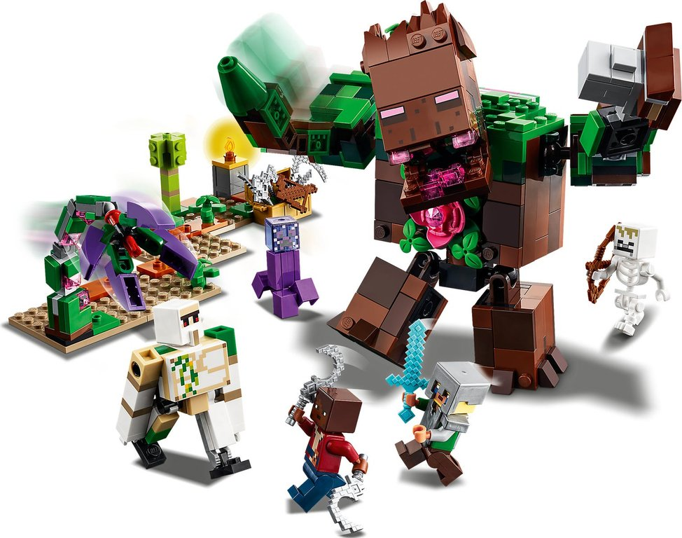 LEGO® Minecraft The Jungle Abomination gameplay