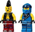 LEGO® Ninjago Jay's Electro Mech minifigures