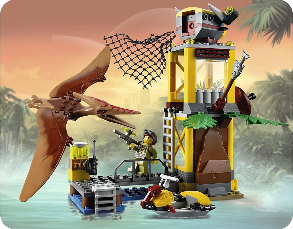 Pteranodon Tower gameplay