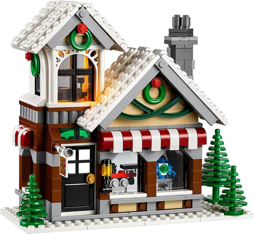 Winter Toy Shop building