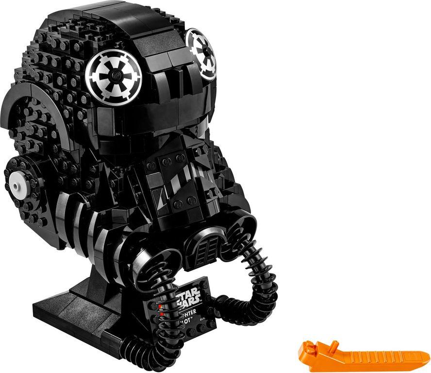LEGO® Star Wars TIE Fighter Pilot™ Helmet components
