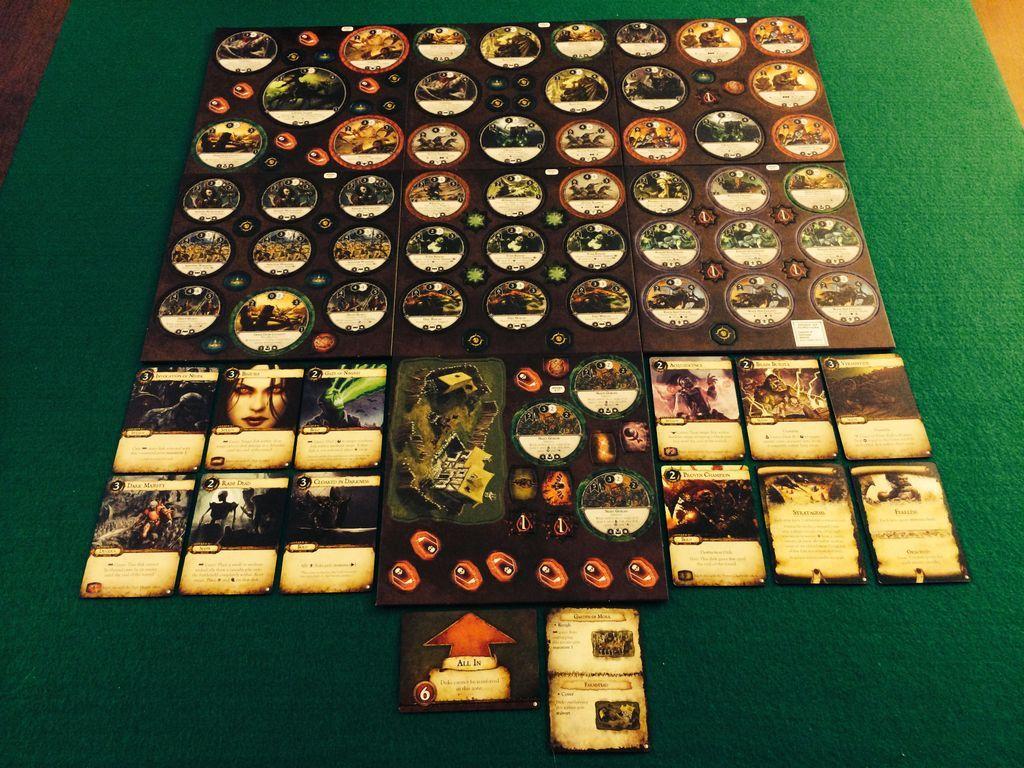 Warhammer: Diskwars - Legions of Darkness components