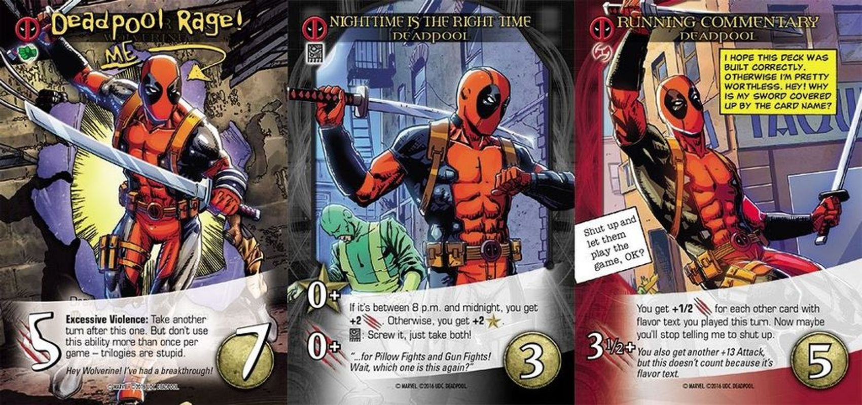 Legendary: Deadpool cards
