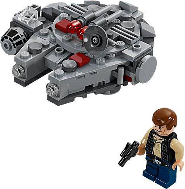 LEGO® Star Wars Millennium Falcon components