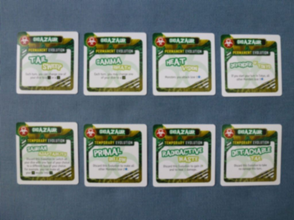 King of Tokyo: Power Up! cards