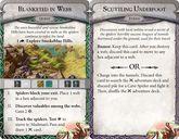 Runebound (Third Edition): Caught in a Web - Scenario Pack cards