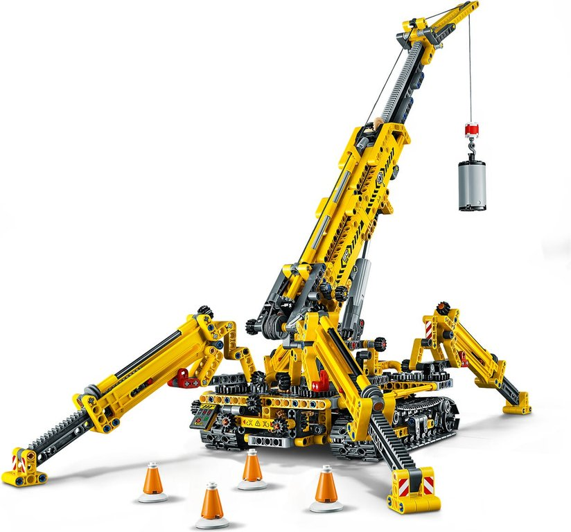LEGO® Technic Compact Crawler Crane components