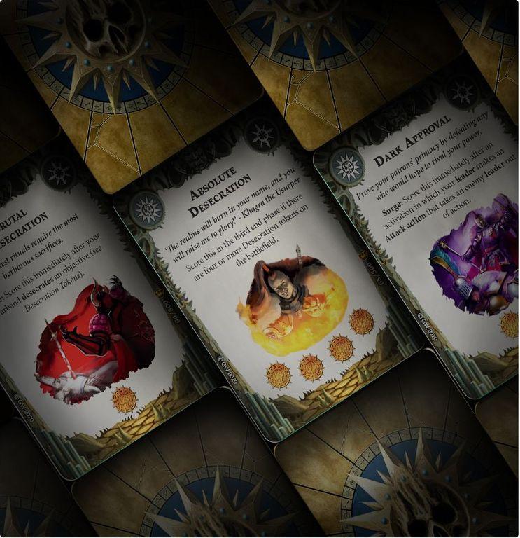 Warhammer Underworlds: Direchasm – Khagra's Ravagers cards