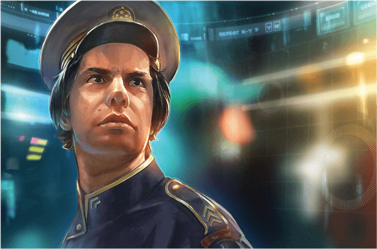 Captain Sonar: Operation Dragon characters