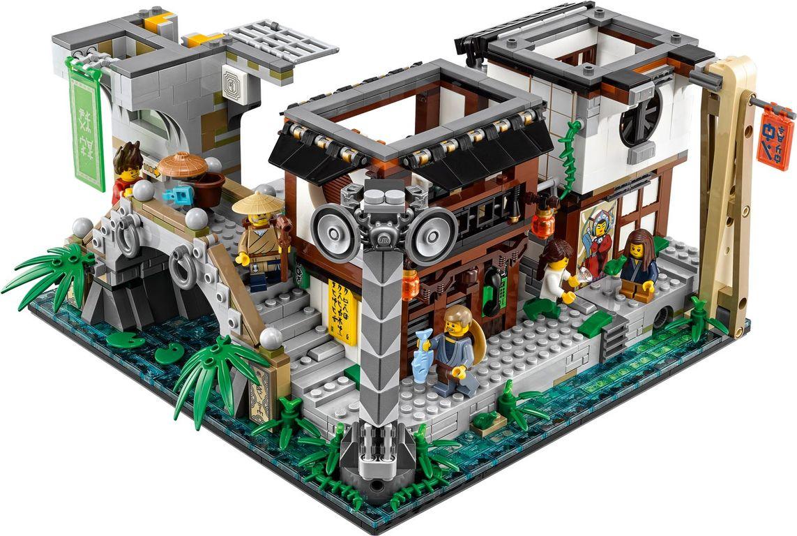 LEGO® Ninjago City interior