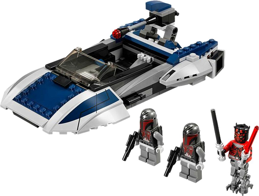 LEGO® Star Wars Mandalorian Speeder components