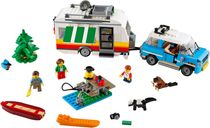LEGO® Creator Caravan Family Holiday components