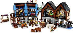Medieval Market Village interior