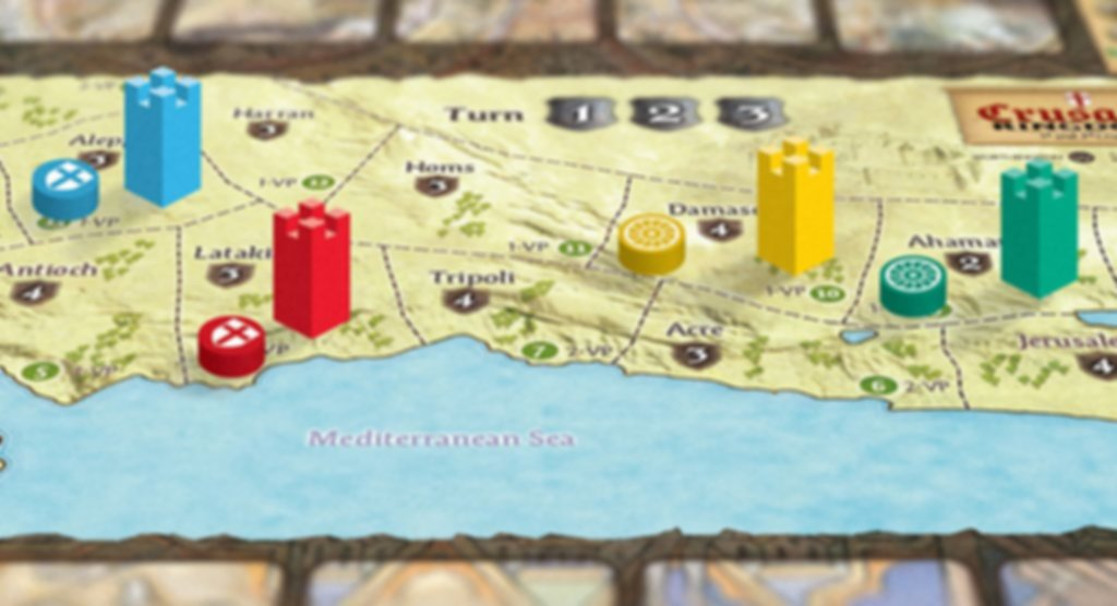 Crusader Kingdoms: The War for the Holy Land gameplay